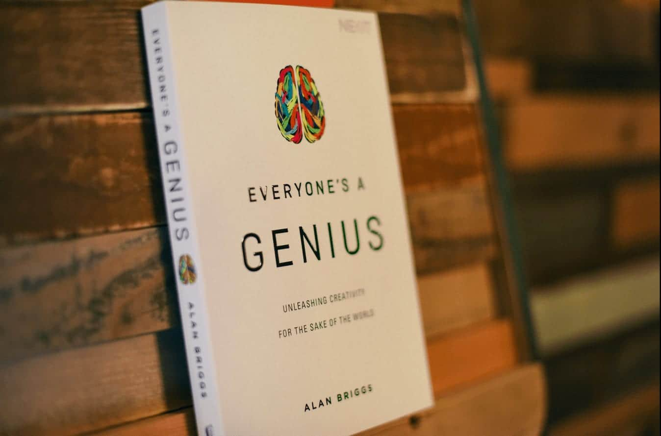 The ridiculous story behind 'Everyone's a Genius' by Alan Briggs